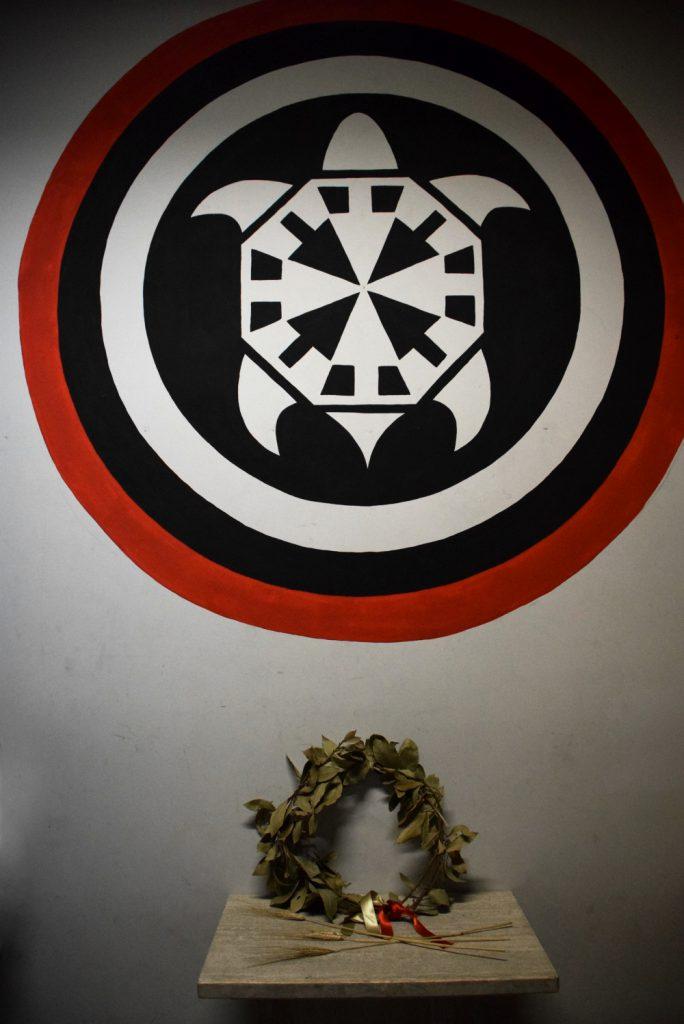 CasaPound's turtle symbol
