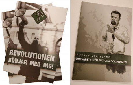 Nordic Resistance Movement leaflet and pamphlet In Defence of National Socialism