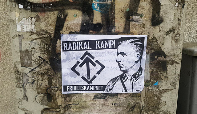 Nordic Resistance Movement Horst Wessel remembrance activism in Norway