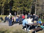 Nordic Resistance Movement Nest 2 family outdoor quiz and barbeque