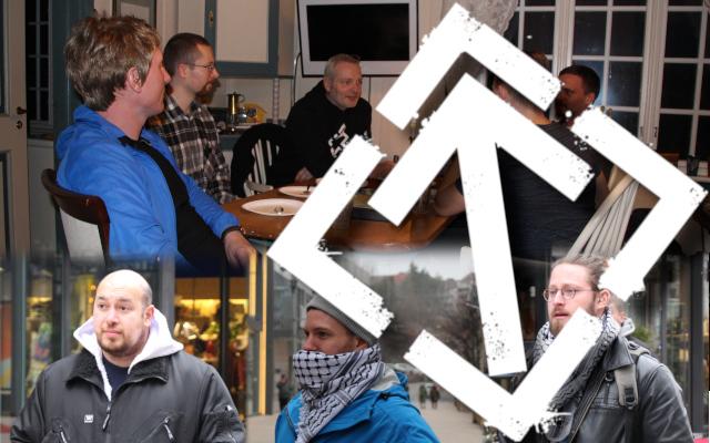 Nordic Resistance Movement activism in Fredrikstad, Norway