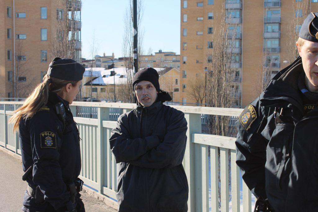 Marxist opponent of NRM activist in Umeå