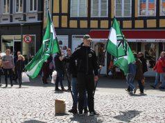 The Nordic Resistance Movement leaflet in Svendborg, Denmark