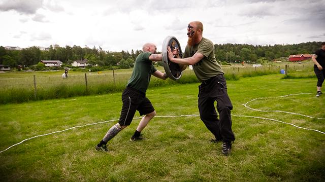 Nordic Resistance Movement Nest 2 Viking games in Bohuslän