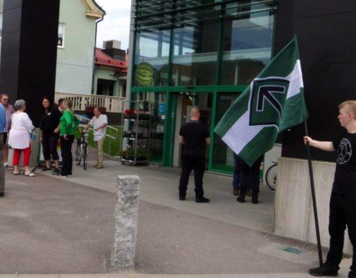 Nordic Resistance Movement activism in Dalsland