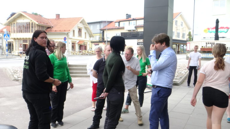 Nordic Resistance Movement activism in Dalsland