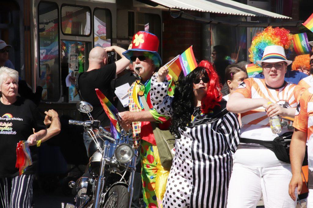 Ludvika Pride parade 2019
