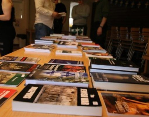 Books for sale at Nest 2 monthly meeting