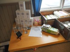 Items for sale at Nest 3 monthly meeting