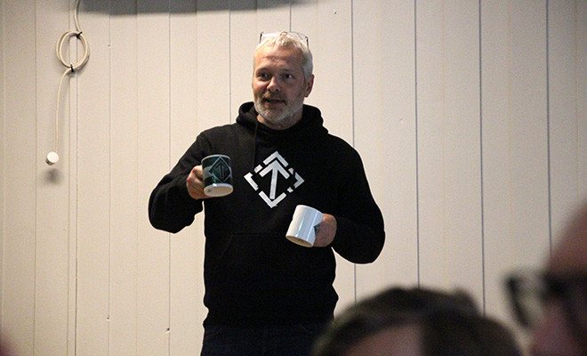 Tommy Nyberg at Activist Days 2019 in Norway