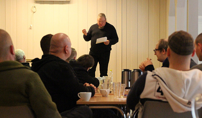 Jimmy Thunlind speaks at Activist Days in Norway 2019