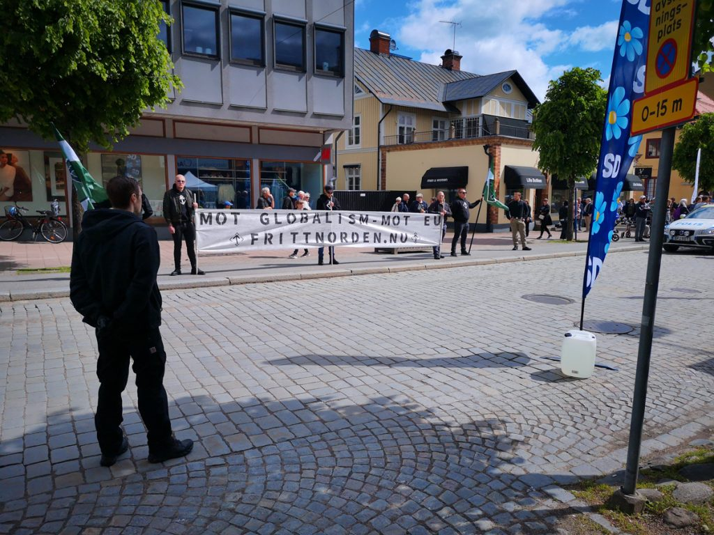 Nordic Resistance Movement activism in Vetlanda