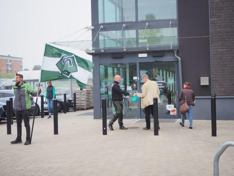Nordic Resistance Movement activism in Simrishamn