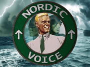 Nordic Voice podcast logo