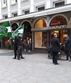 Nordic Resistance Movement activists in Helsingborg