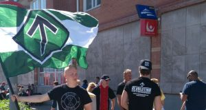The Nordic Resistance Movement leaflet in Lysekil