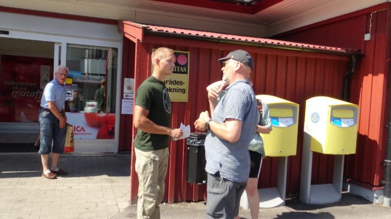 Nordic Resistance Movement activism Västkusten