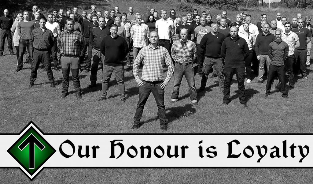 Nordic Resistance Movement - Our honour is loyalty