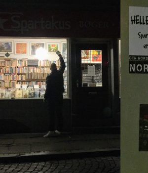Action against Spartakus Book Café, Århus
