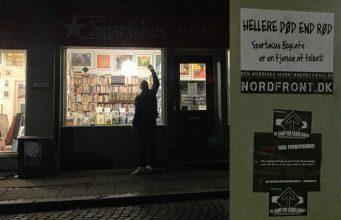 Action against Spartakus Book Café, Århus