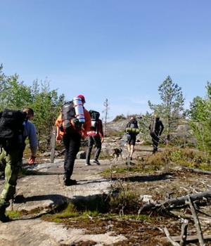 Nest 1 wilderness hike