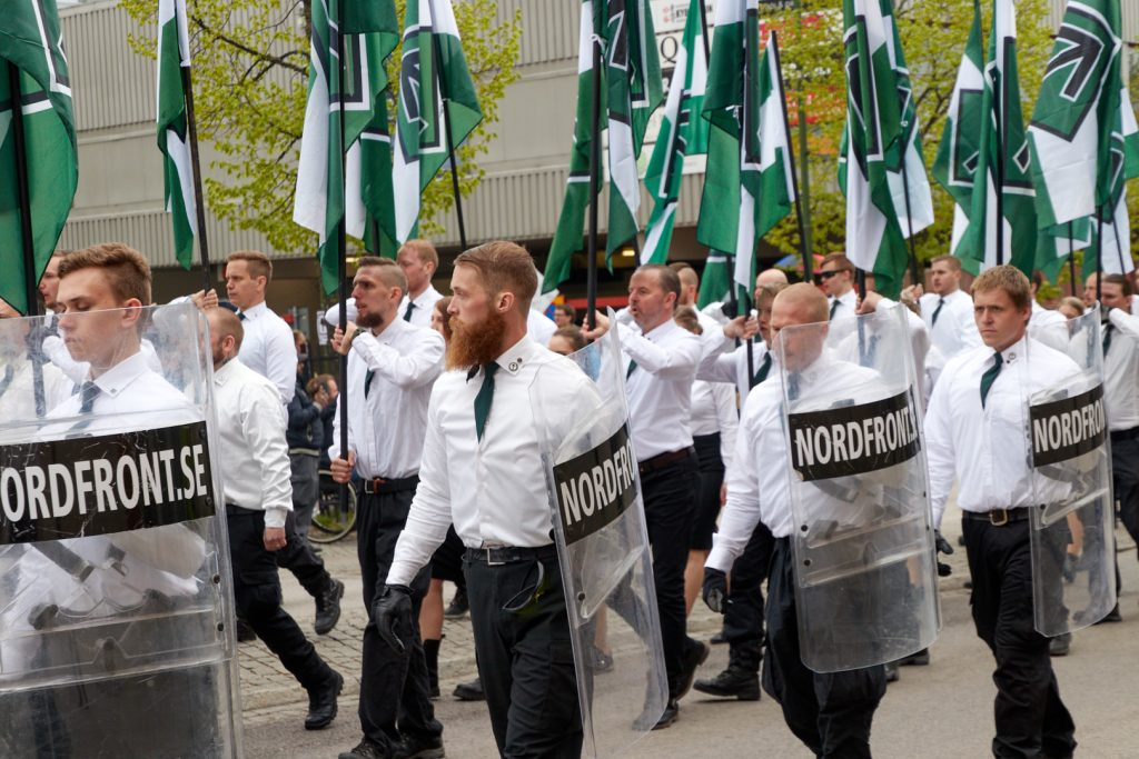 Nordic Resistance Movement march