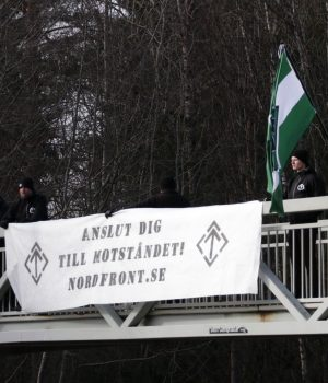 Nordic Resistance Movement Gustav Vasa remembrance activism