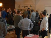 Nest 2 Nordic Resistance Movement meeting
