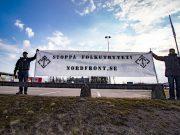 Nordic Resistance Movement banner, Filipstad
