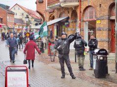 Nordic Resistance Movement activism, Ystad