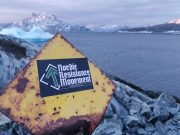 Nordic Resistance Movement sticker in Greenland
