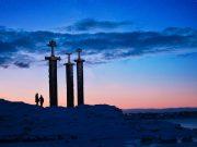 Stavanger sword monument