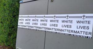 White Lives Matter posters in Randers, Denmark