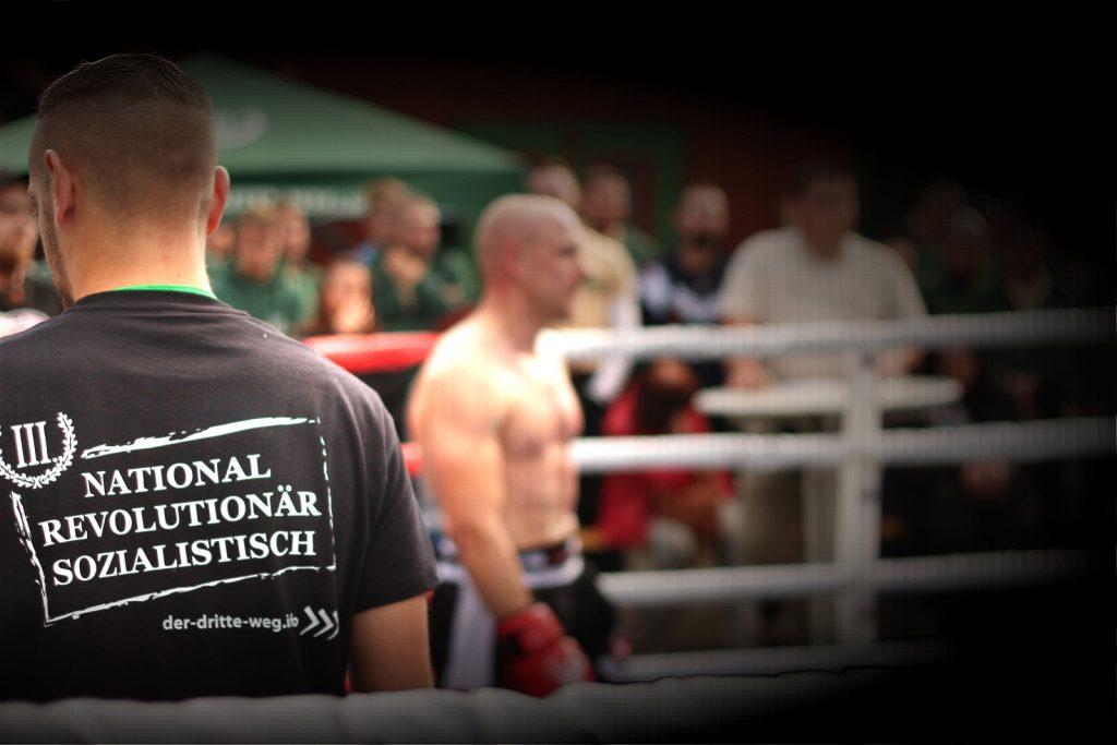 Nationalist boxing match with Der Dritte Weg