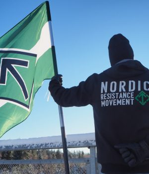 Nordic Resistance Movement bridge action, Skåne