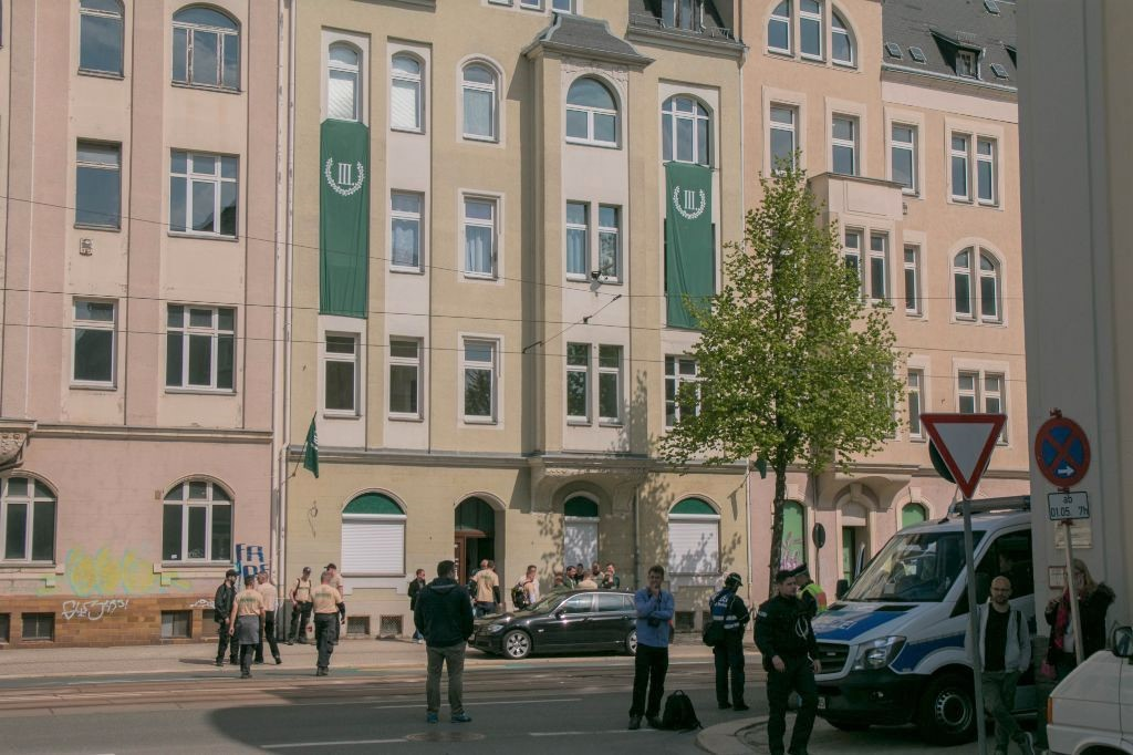 The P130 building in Plauen, Germany
