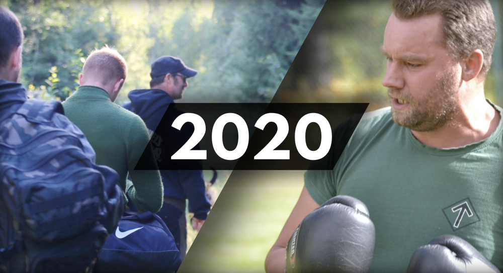 The Nordic Resistance Movement in 2020