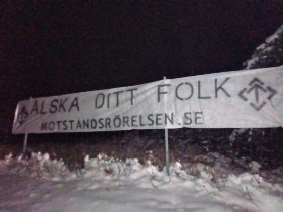 Love Your People banner, Botkyrka and Södertälje