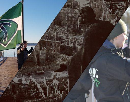 Nordic Resistance Movement Dresden memorial activism in Sweden