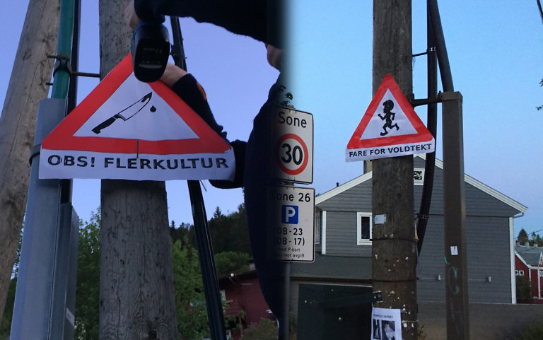 Warning signs against multiculturalism