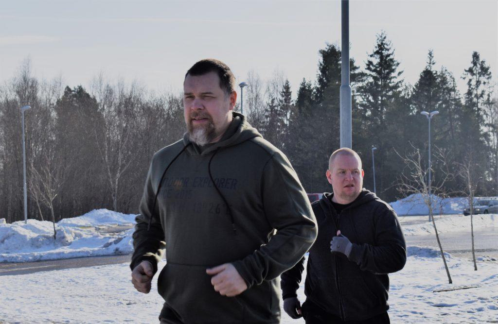 Fredrik Vejdeland NRM training