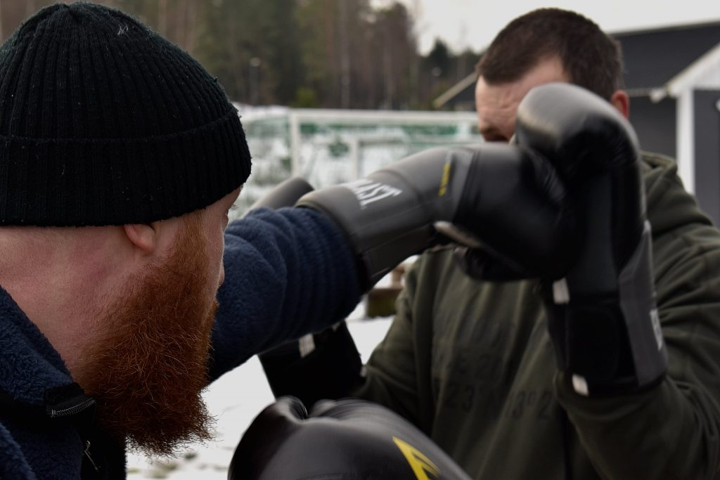 Nordic Resistance Movement martial arts training in Sweden's Nest 2