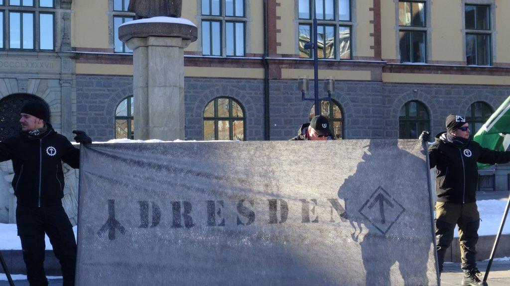 NRM Dresden remembrance activity in Eskilstuna