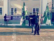 Danish Nordic Resistance Movement activity in Randers