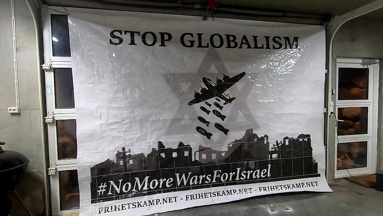 Stop Globalism poster