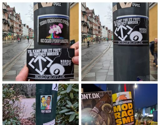 NRM stickers in Aalborg