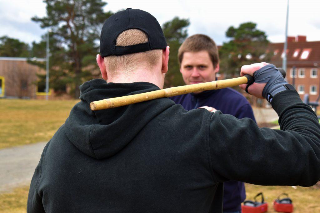 Nest 2 martial arts training session