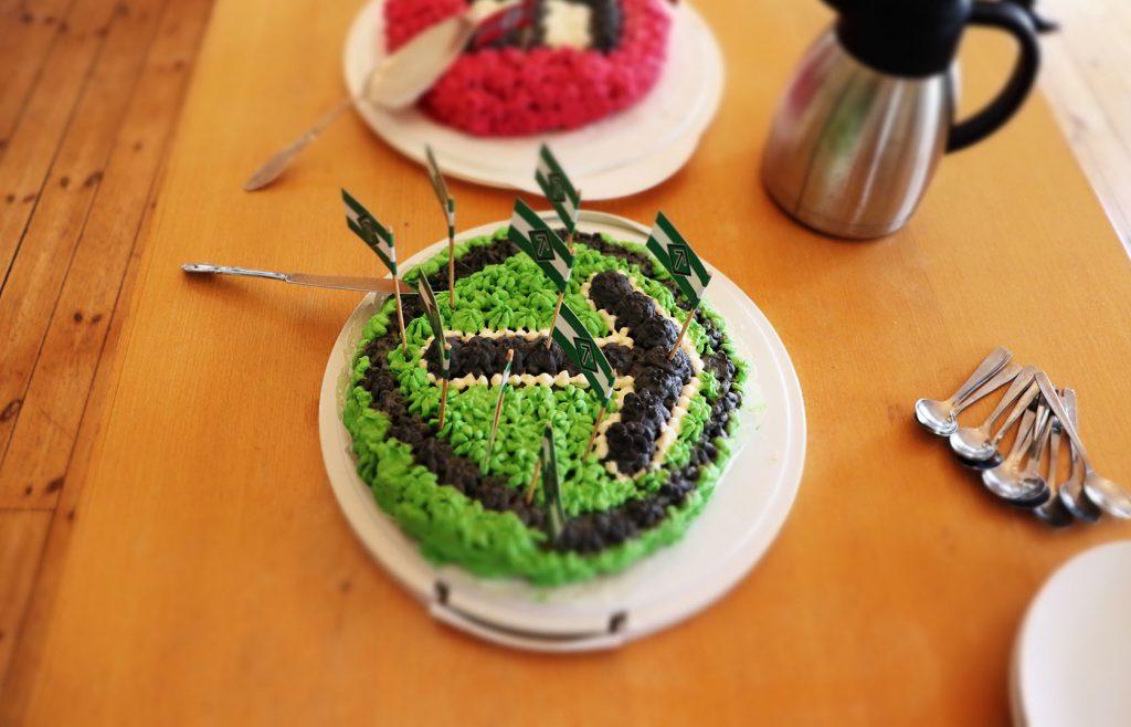 Tyr rune cake