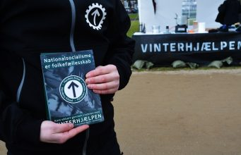 Nordic Resistance Movement Winter Aid initiative in Odense, Denmark