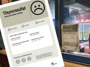Norwegian restaurant hygiene ratings from the Resistance Movement